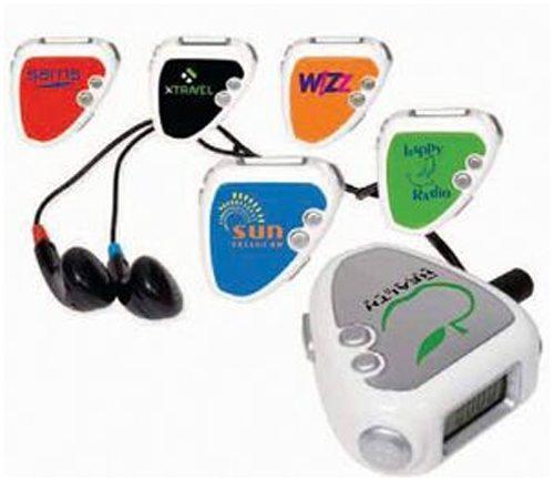 Audio Jogger Pedometer/FM Radio
