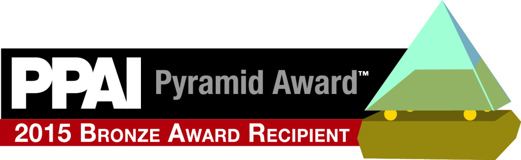 PPAI Bronze Pyramid Award 2015