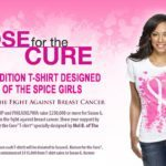 Kraft Pose for the Cure with Mel B.