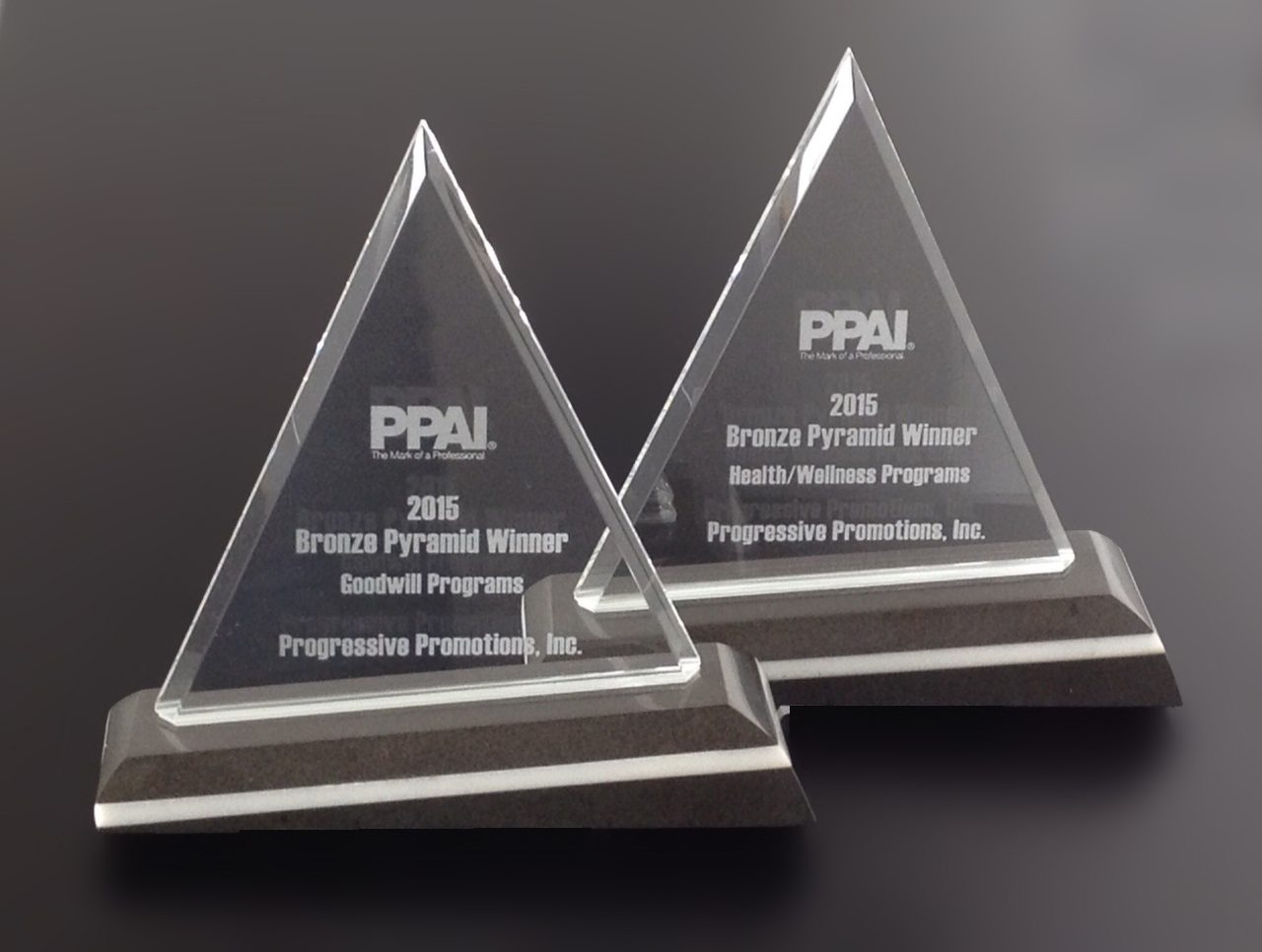 Our 2015 Bronze Pyramid Awards