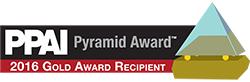 PPAI Gold Pyramid Award 2016
