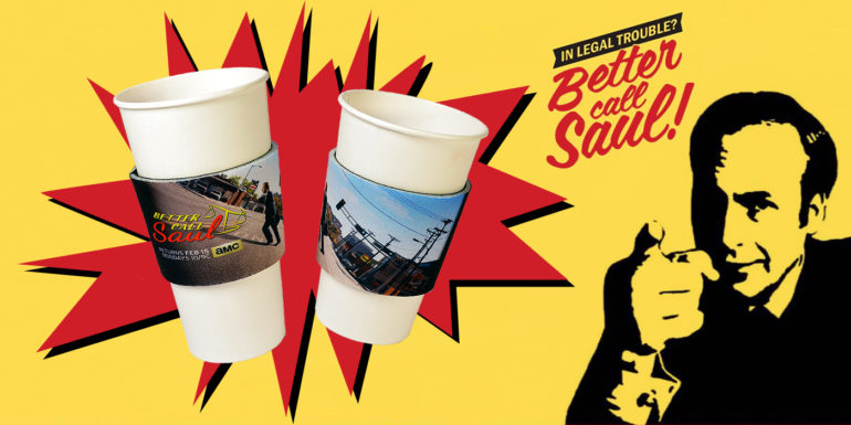 AMC Better Call Saul Coffee Sleeves