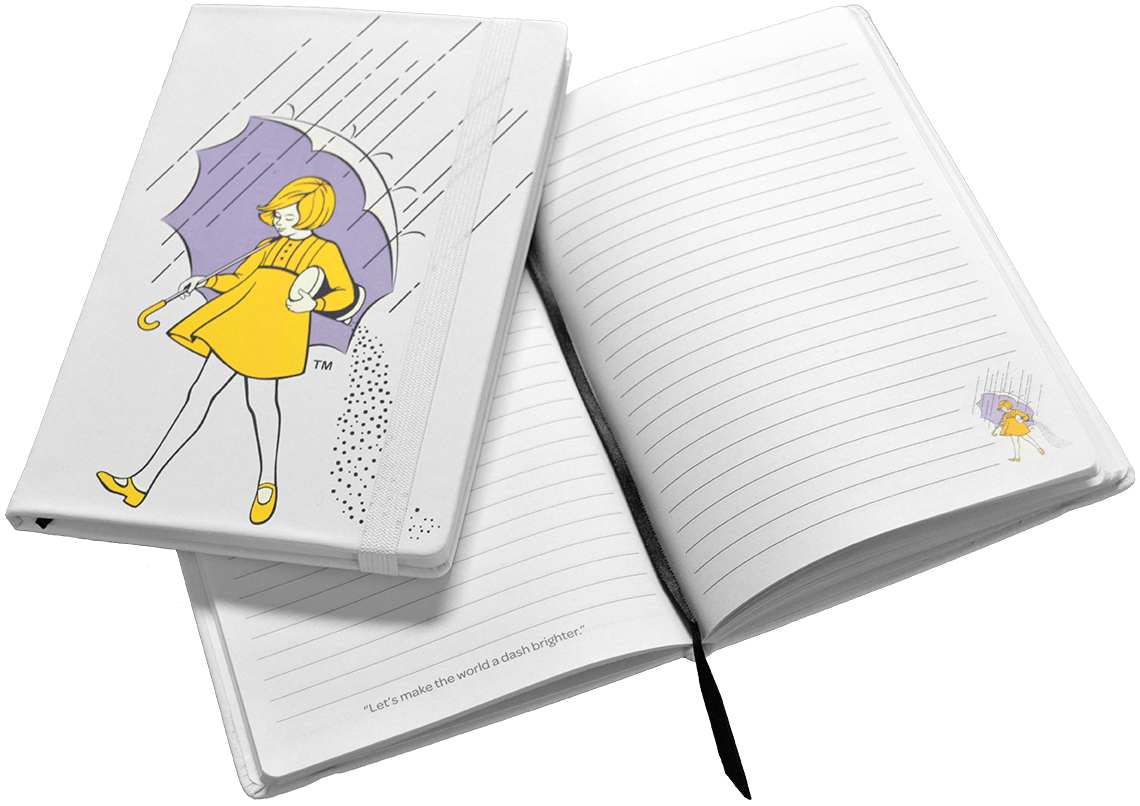Morton Salt Notebook