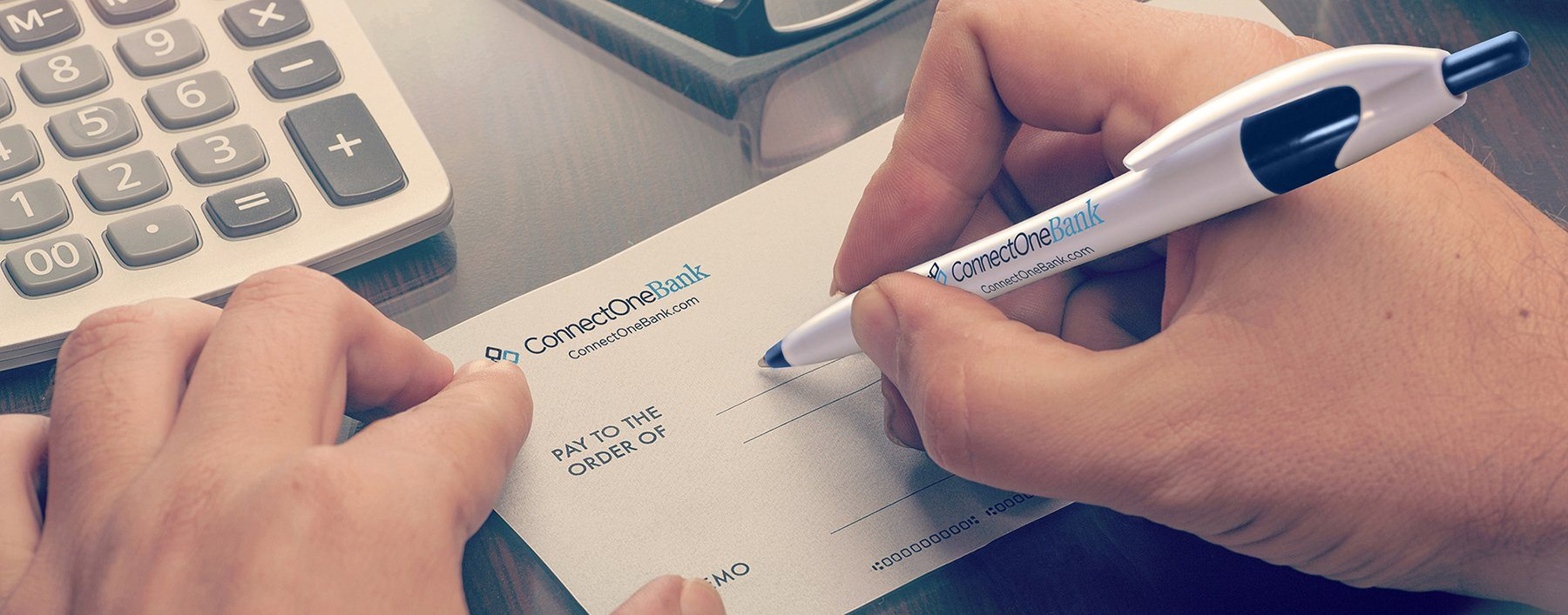 ConnectOne Bank Pen
